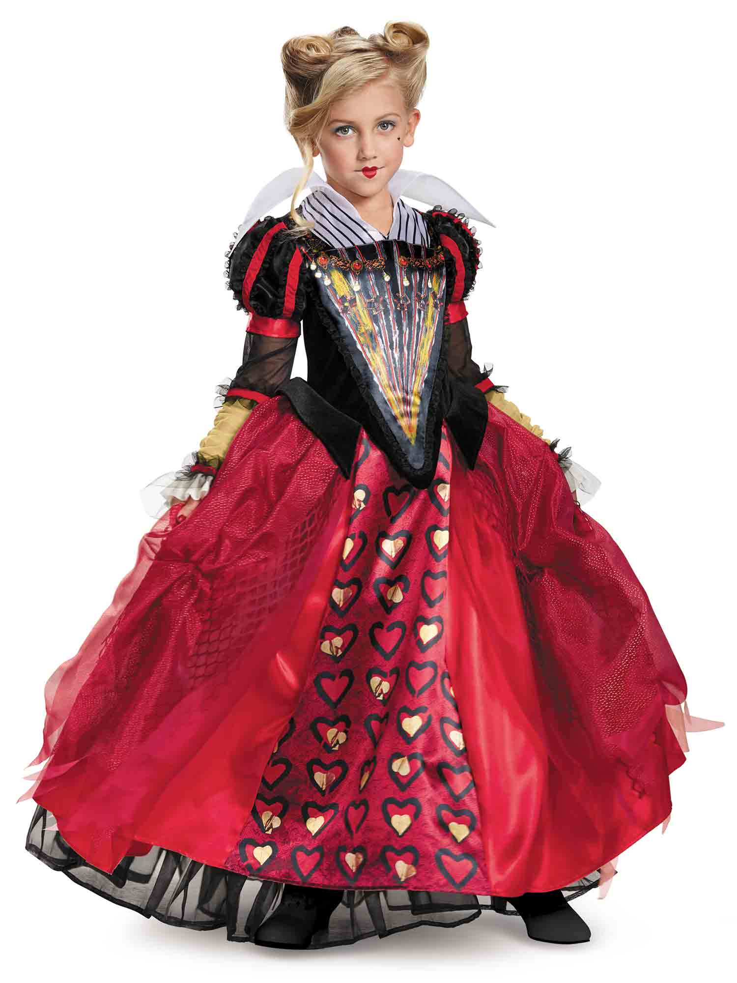 Disguise Inc Red Queen Costume For Kids