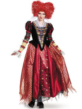 Alice Through The Looking Glass Red Queen Prestige Adult Costume