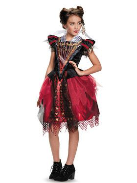 Alice Through the Looking Glass: Red Queen Tween Costume