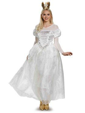 Alice Through The Looking Glass White Queen Deluxe Adult Costume