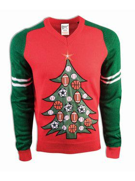 All Sports Christmas Sweater Costume Top