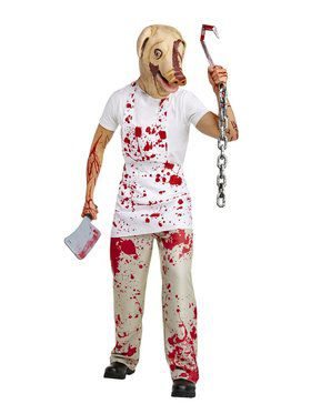 American Horror Story - Piggy Man Costume for Adults
