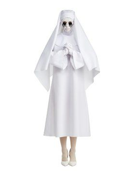 AHS White Nun Costume For Adults