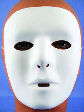 Anarchy Paintable Adult Mask