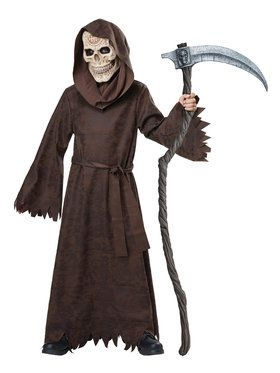 Ancient Reaper Boy's Costume