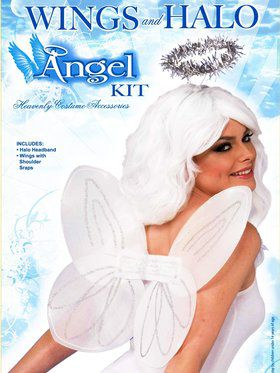 Angel Halo and Wing Kit