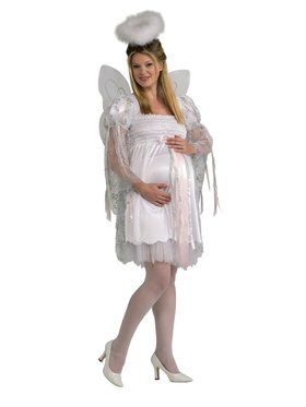 Angel Maternity Adult Costume