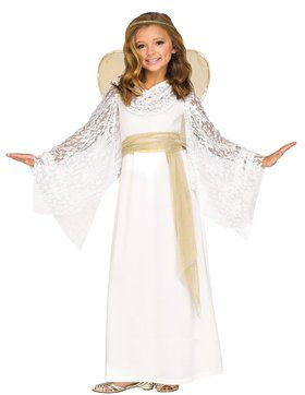Angelic Maiden Costume For Children