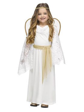 Angelic Miss Costume for Toddlers