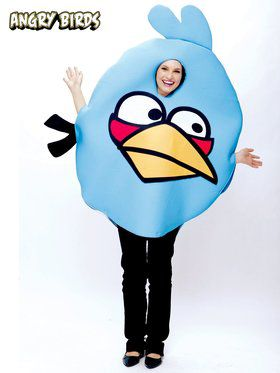 Angry Birds' Blue Bird Adult Costume