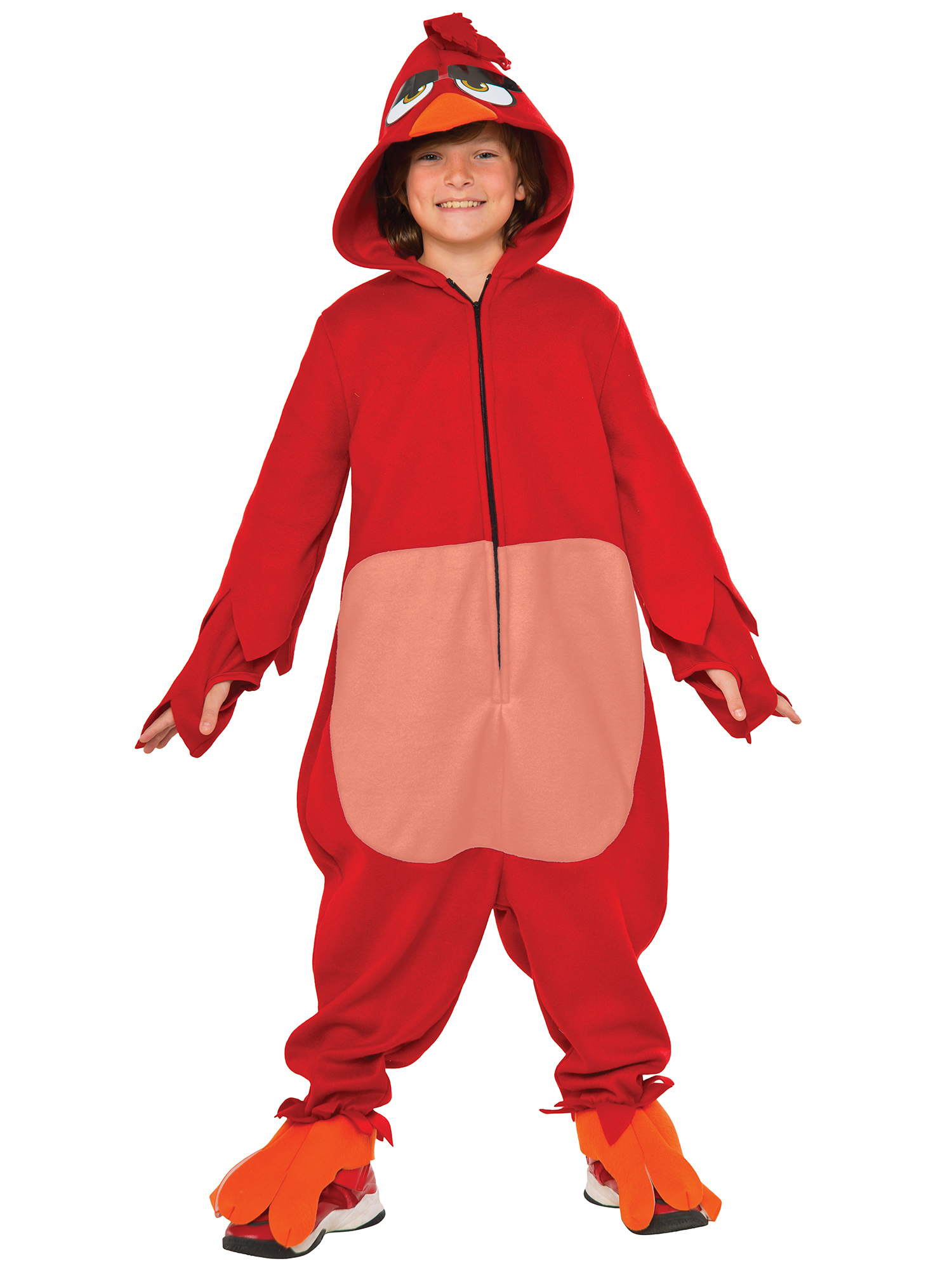 Angry Birds Movie - Red Bird Costume For Kids R620935-LG