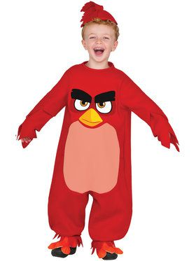 Angry Birds Movie - Red Bird Costume Toddler