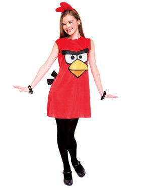 Angry Birds Red Bird Child Costume