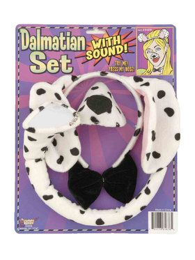 Animal Accessory Set With Sound Dalmatian