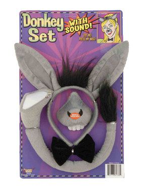Animal Accessory Set With Sound Donkey