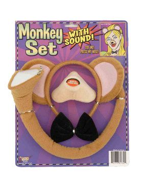 Animal Accessory Set With Sound Monkey