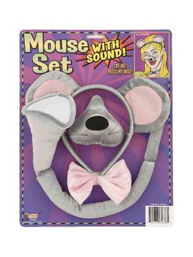 Animal Accessory Set With Sound Mouse