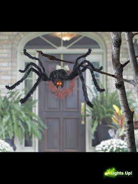 "Animated 49"" Wide Spider Prop"