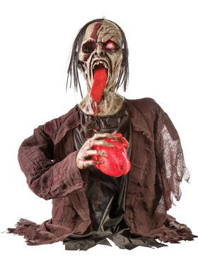 Animated Beating Heart Zombie Groundbreaker Prop