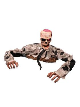 Animated Escape From The Grave Zombie Prop