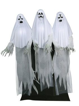 Animated Haunting Ghost Trio Prop