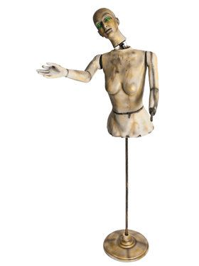 Animated Severed Mannequin Prop