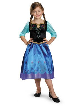 Anna Traveling Classic Costume for Girls