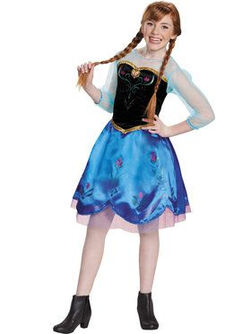 Anna Traveling Girl's Costume