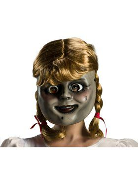 Annabelle Mask w/ Wig - Annabelle 3