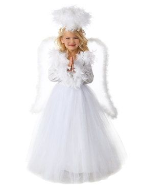 Annabelle the Angel Girl's Costume