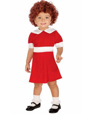 Annie Girls Toddler Costume