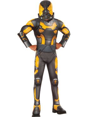 Ant-Man Deluxe Boys Yellow Jacket Costume