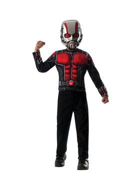 Ant-Man Child Deluxe Muscle Shirt Box Set Costume