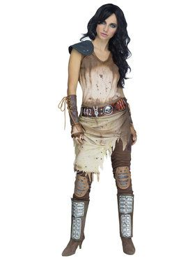 Womens Apocalypse Warrior Costume