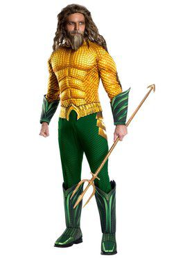Mens Aquaman Deluxe Costume