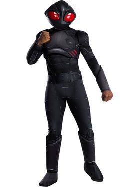 Deluxe Mens Aquaman Movie Black Manta Costume
