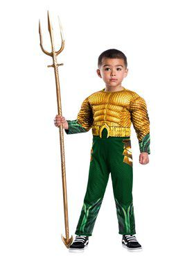 Toddler DC Aquaman Movie Costume