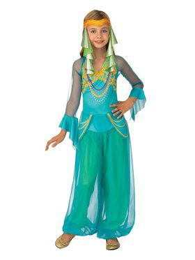 Girls Arabian Dancer Costume