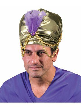 Arabian Nights Adult Beaded Turban