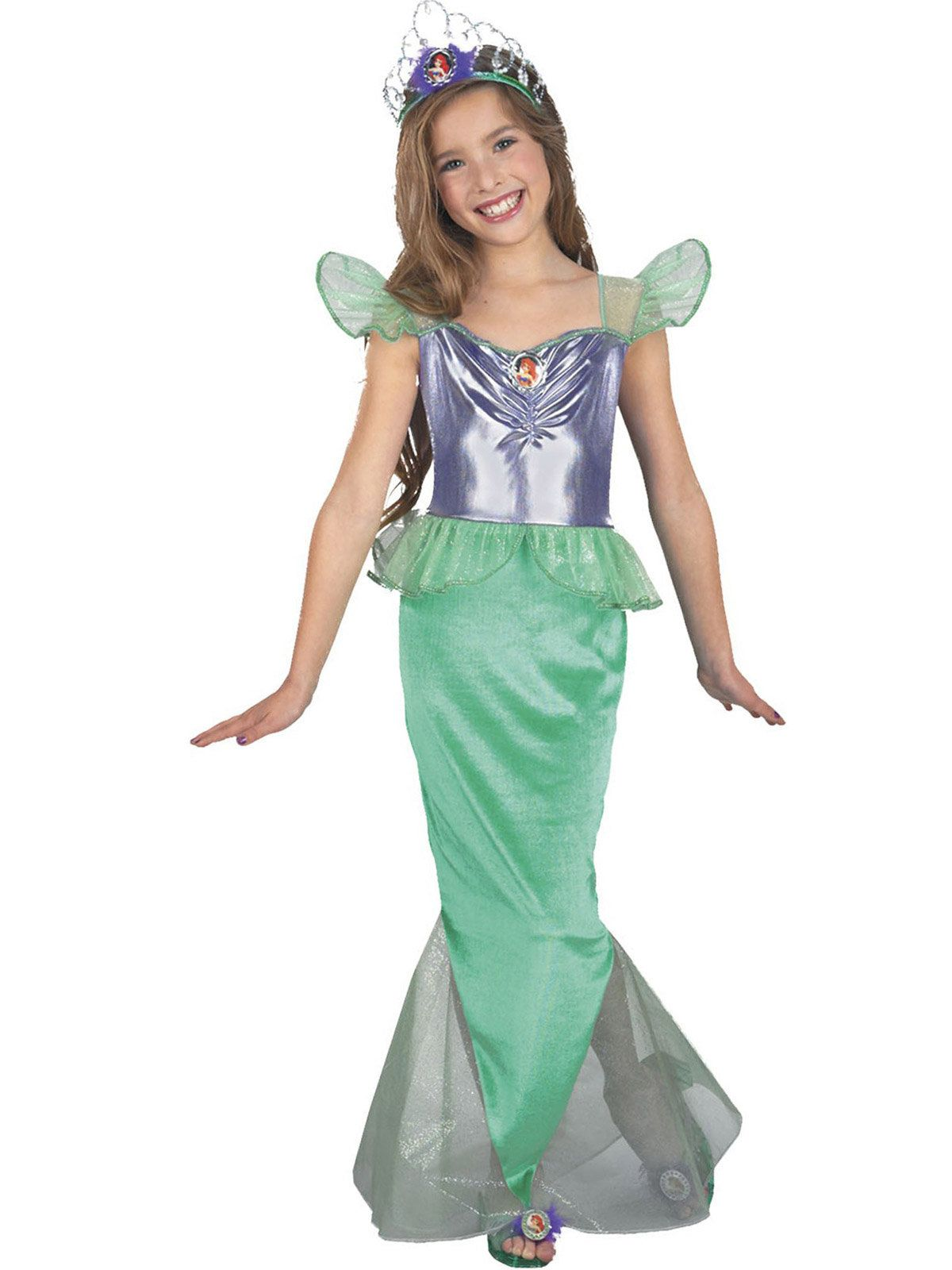 Ariel Little Mermaid Standard Child Complete Costume Kit - Small  sc 1 st  Wholesale Halloween Costumes & Ariel The Little Mermaid Costume - Disney Princess Girls Costumes