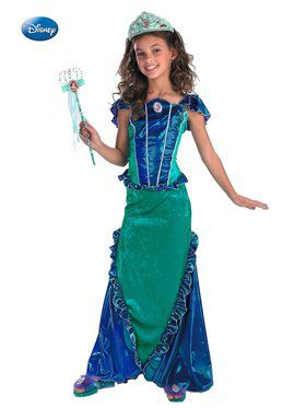 Ariel Mermaid Deluxe Child Costume