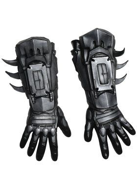 Arkham Batman Deluxe Gloves Adult Costume