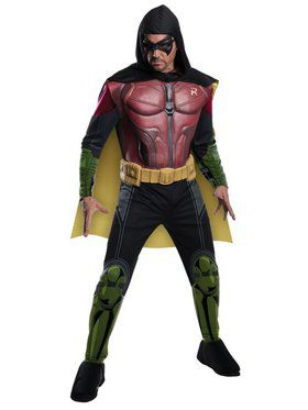 Muscle Chest Arkham Robin Costume for Men