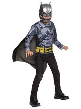 Deluxe Armored Batman Child Costume Set