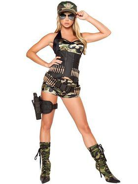 Army Baby Deluxe Costume