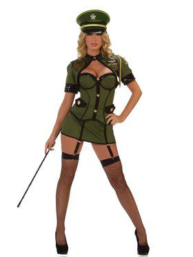 Army General Deluxe Sexy Costume