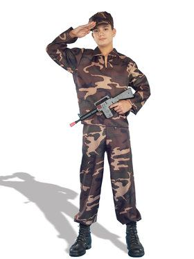 Army Soldier Costume For Teens