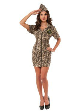 Army Woman Women's Costume