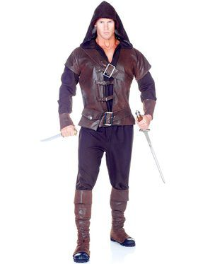 Assassin Men's Costume