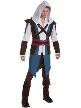 Assassin's Creed Edward Classic Mens Costume